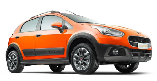 Compare Fiat Avventura Kerb Weight with similar cars