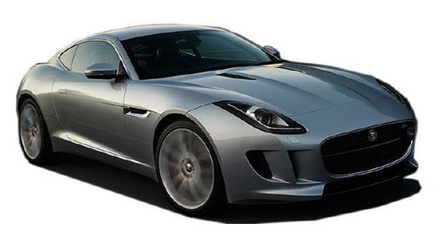 Compare Jaguar F-Type Kerb Weight with similar cars