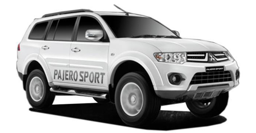 Compare Mitsubishi Pajero Sport Ground Clearance with similar cars