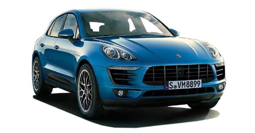 Compare Porsche Macan Ground Clearance with similar cars