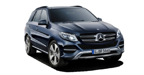 Mercedes-Benz GLE [2015-2020] Model Image