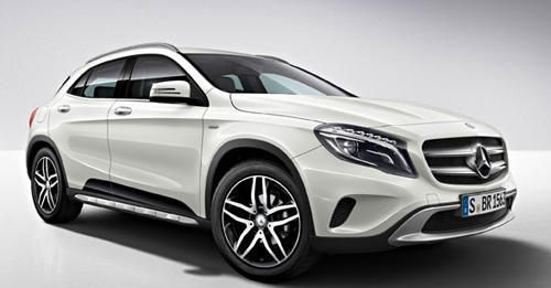 Mercedes-Benz GLA [2014-2017] Model Image