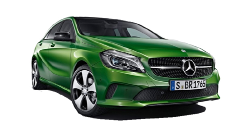 Compare Mercedes-Benz A-Class Ground Clearance with similar cars