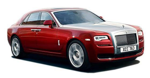 Rolls-Royce Ghost Series II Boot Space Capacity