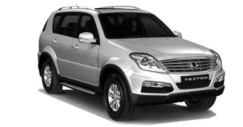 Ssangyong Rexton Boot Space Capacity
