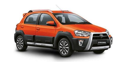 Compare Toyota Etios Cross Ground Clearance with similar cars