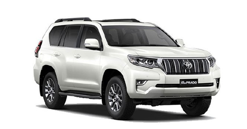 Toyota Land Cruiser Prado Colours