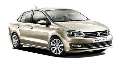 Compare Volkswagen Vento Kerb Weight with similar cars