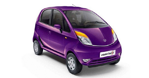 Tata Nano Colours