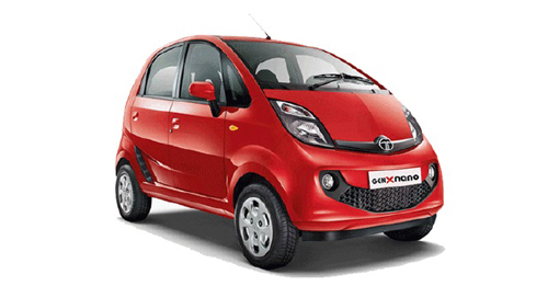 Tata Nano GenX Colours