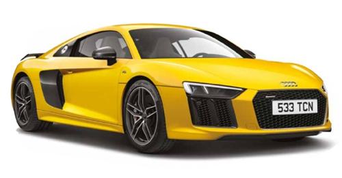 Audi R8 Fuel Tank Capacity