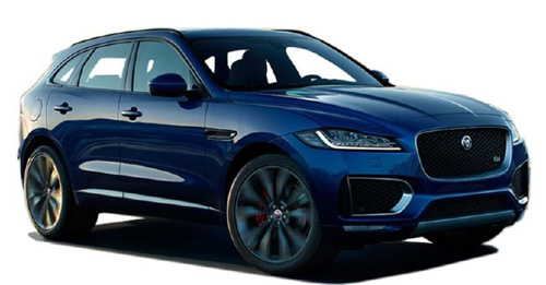 Compare Jaguar F-Pace Kerb Weight with similar cars