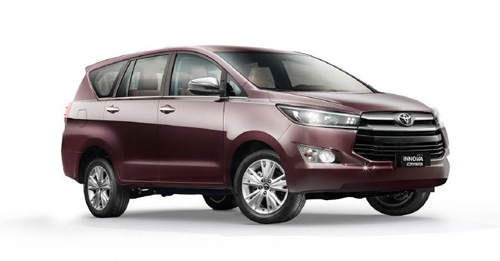 Toyota Innova Crysta 2.4 ZX 7 STR Price in India
