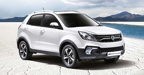Upcoming Ssangyong Korando Price - Get Ssangyong Korando price, specifications, expected launch date and photos of Ssangyong Korando. Check Ssangyong Korando On Road Price, Ssangyong Korando city price, Ssangyong Korando highway price, Ssangyong Korando Expected Price, Ssangyong Korando in India & Get full Ssangyong Korando Price details at autoX