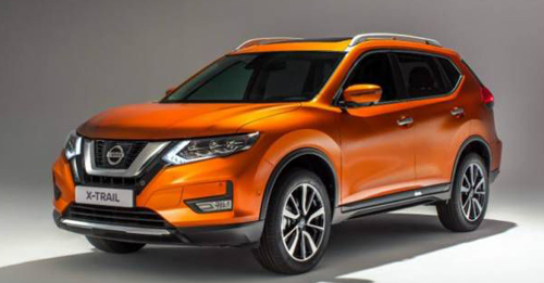 Nissan X-Trail Model Image