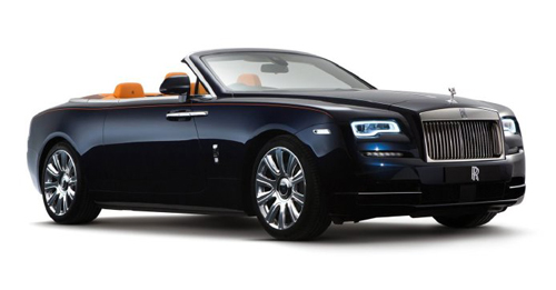 Rolls-Royce Dawn Colours
