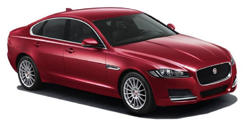 Jaguar XF Model Image