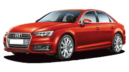 Compare Audi A4 Kerb Weight with similar cars