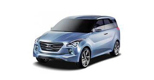 Hyundai Hexa Space Model Image