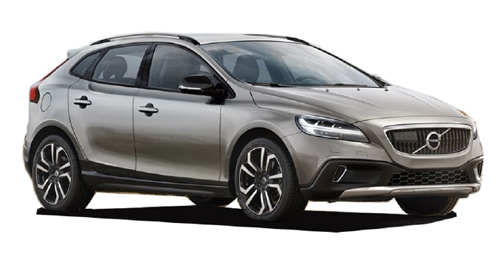 Compare Volvo V40 Cross Country Kerb Weight with similar cars