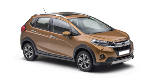 Compare Honda WR-V Kerb Weight with similar cars