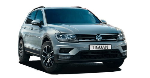 Compare Volkswagen Tiguan Ground Clearance with similar cars