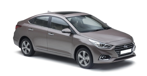 Hyundai Verna Dimensions, Length, Width and Height.