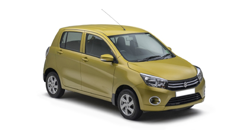 Compare Maruti Suzuki Celerio Kerb Weight with similar cars