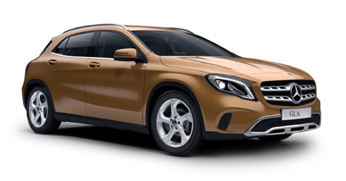 Compare Mercedes-Benz GLA Kerb Weight with similar cars