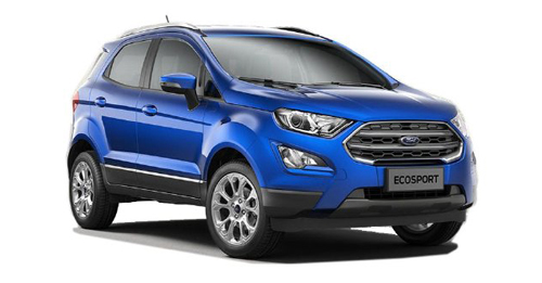 Compare Ford EcoSport Kerb Weight with similar cars