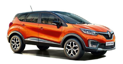 Renault Captur Colours