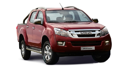 Isuzu D-Max V-Cross Boot Space Capacity