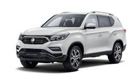 Mahindra New Rexton Model Image