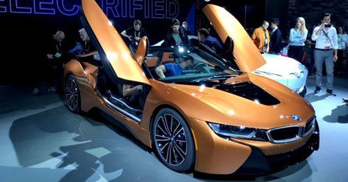 BMW i8 Roadster Model Image