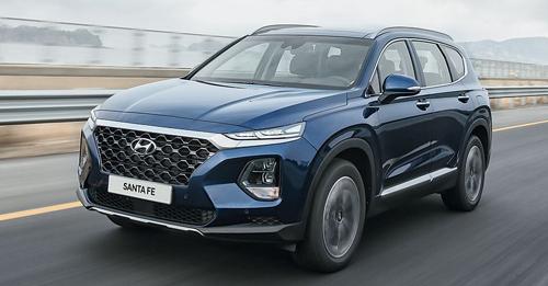 Hyundai Santa Fe Model Image