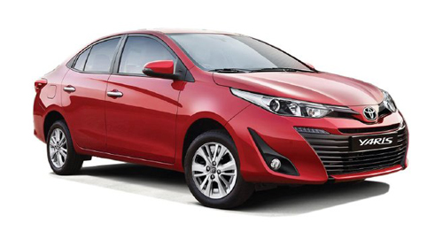 Toyota Yaris V MT Price in India