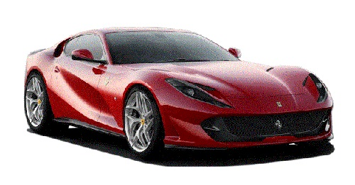 Ferrari 812 Colours