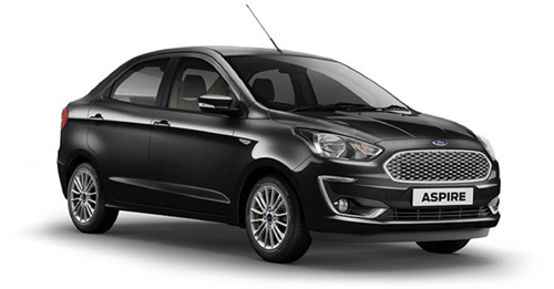 Compare Ford Aspire 2018 Kerb Weight with similar cars