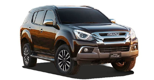 Isuzu MU-X 2018 Price in India - Get Isuzu MU-X 2018 Price, Features, Specs, Review, Mileage, colors and Pictures. Know everything about Isuzu MU-X 2018