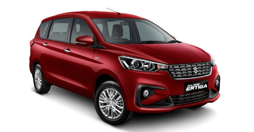 Compare Maruti Suzuki Ertiga Kerb Weight with similar cars