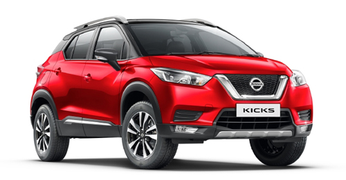 Compare Nissan Kicks Kerb Weight with similar cars