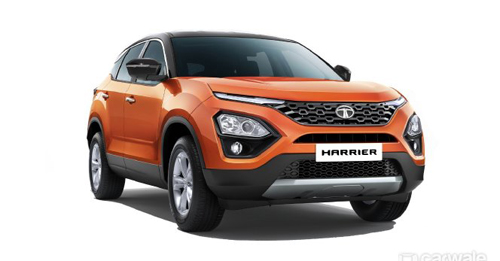Tata Harrier Model Image