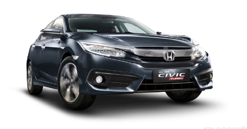 Compare Honda Civic Kerb Weight with similar cars