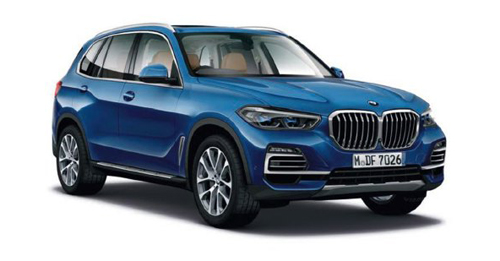 BMW X5 2019 Colours