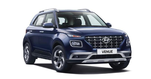Hyundai Venue Colours