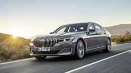 BMW 7-Series Facelift Model Image