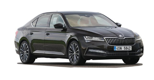 Skoda Superb Facelift Model Image