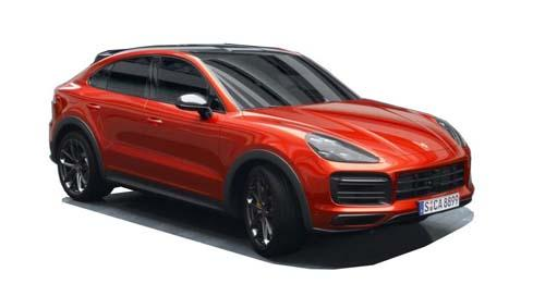 Porsche Cayenne Coupe Model Image