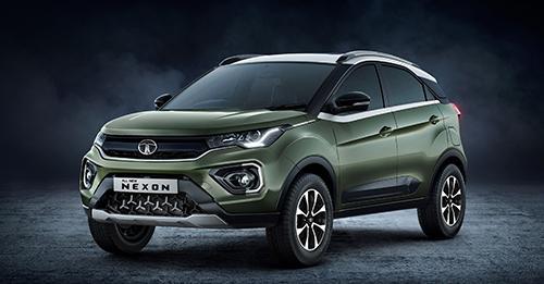 Tata Nexon facelift Model Image