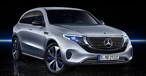 Mercedes-Benz EQC Model Image
